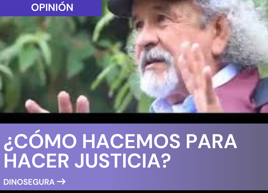 ¿CÓMO HACEMOS PARA HACER JUSTICIA?