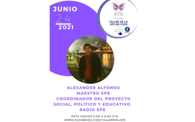 Alexander Alfonso Maestro EPE Invitado Taller de la EPE en Vivo