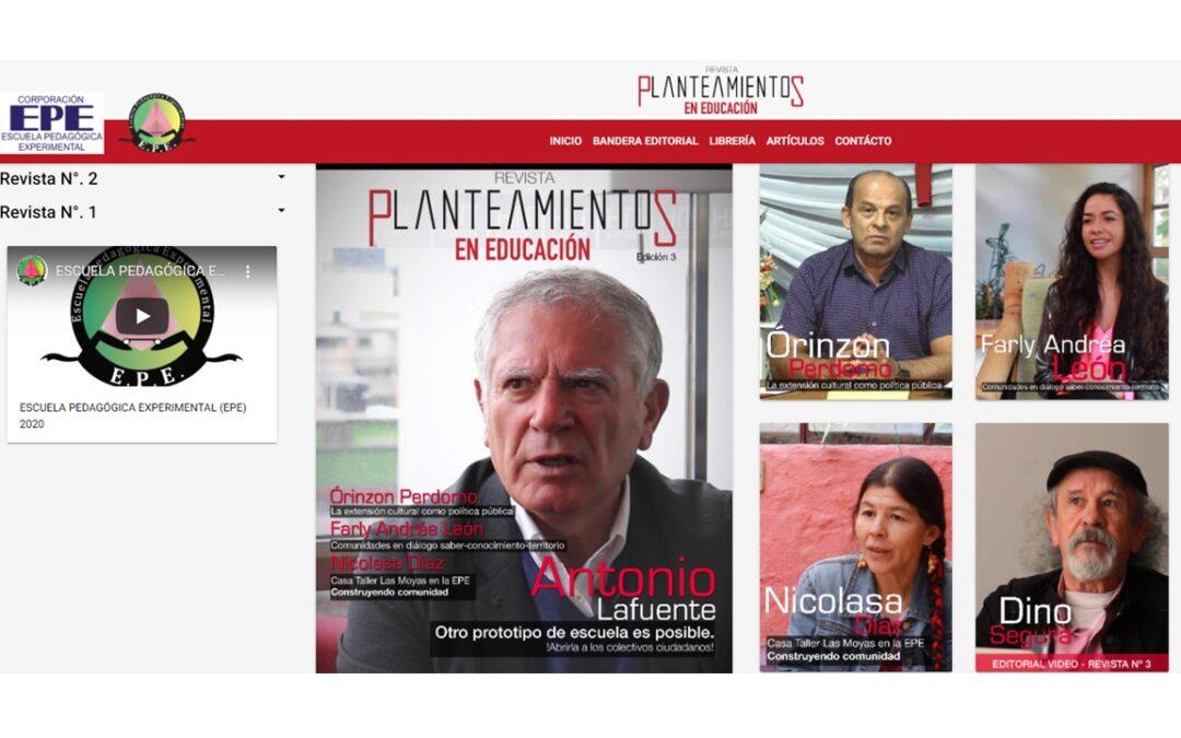 REVISTA PLANTEAMIENTOS EN EDUCACIÓN