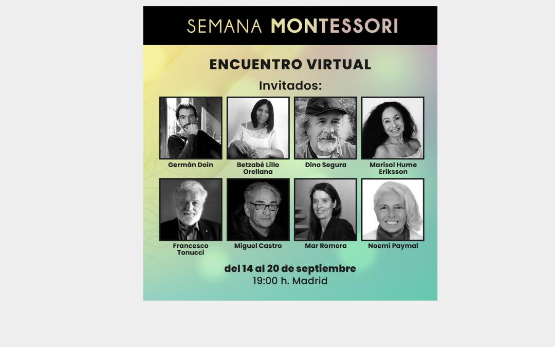 Semana Montessori Invitado Dino Segura
